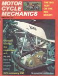 MOTORCYCLE MECHANICS - MOTORCYCLE MAGAZINE - MARCH 1975 - M2115